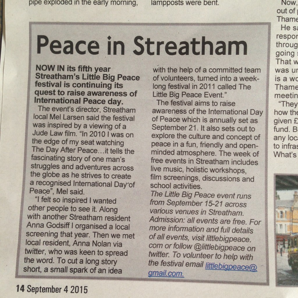 peace-lambeth-weekender-clipping